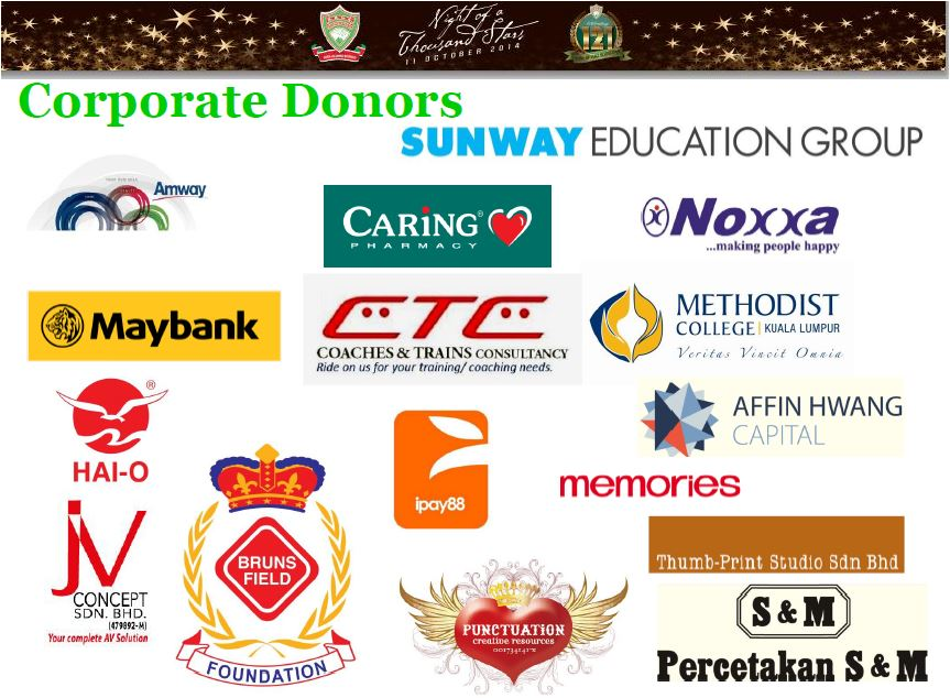 121st Dinner Corporate Donor