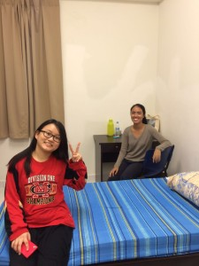 Khai Zin and Alicia are room mates!